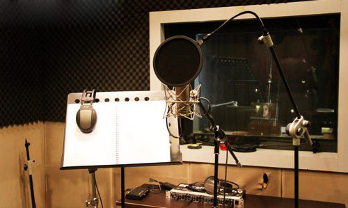 音乐工作室平面设计图展示图片