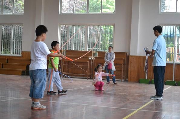 rope skipping federation(世界跳绳联盟)的成立标志着这项运动的正式图片
