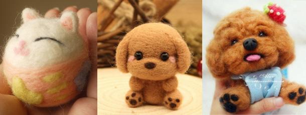 儿童彩陶制小动物图片
