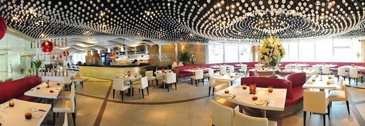 宴口碑好高级餐厅靠窗位年夜饭独立包房购物商城内有12人以上大台面三