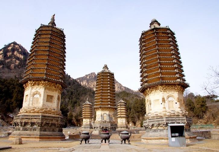 北京银山塔林.镇妖塔风景区分享展示
